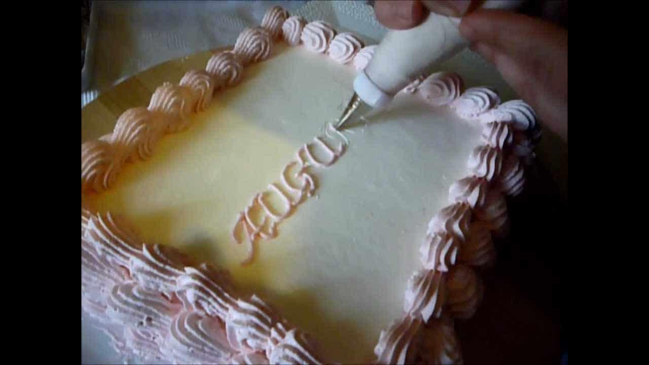 Come Scrivere Sulle Torte Italian Cakes