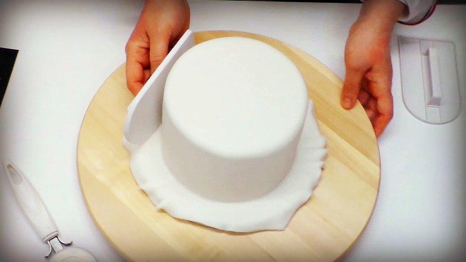 Copertura di torte in pasta di zucchero