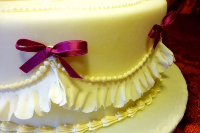 Torta Effetto Trapunta Tutorial.Torta Effetto Garrett Frill Italian Cakes