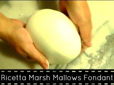 marsh mallows fondant