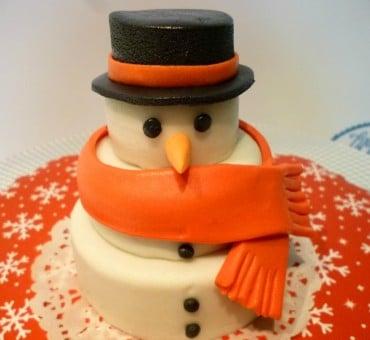 Mini cake decorata