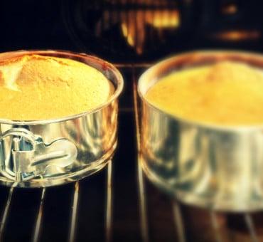 La cottura delle torte e delle creme