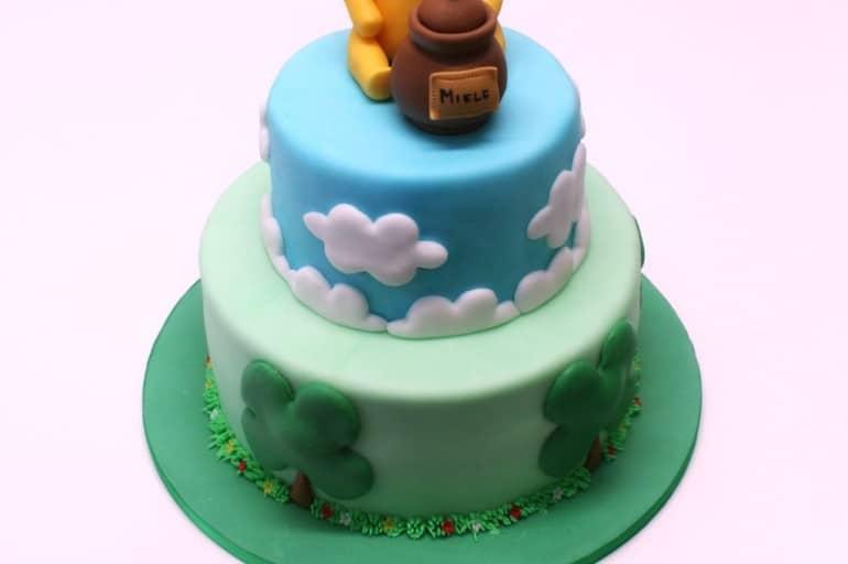 Torta di compleanno Winnie the Pooh