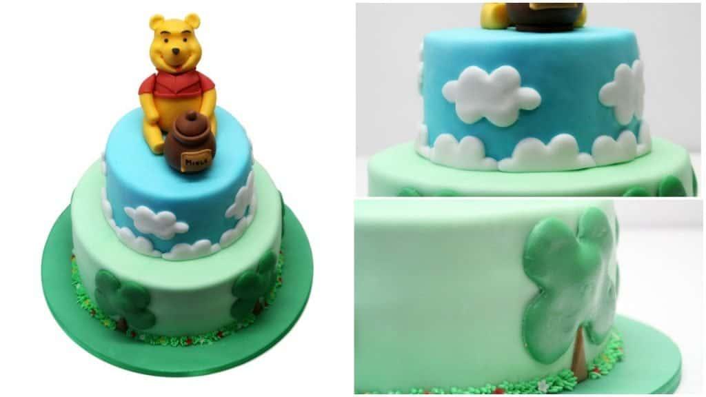 Torta decorata Winnie the Pooh cake design
