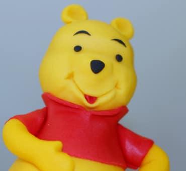 Winnie Pooh in pasta di zucchero