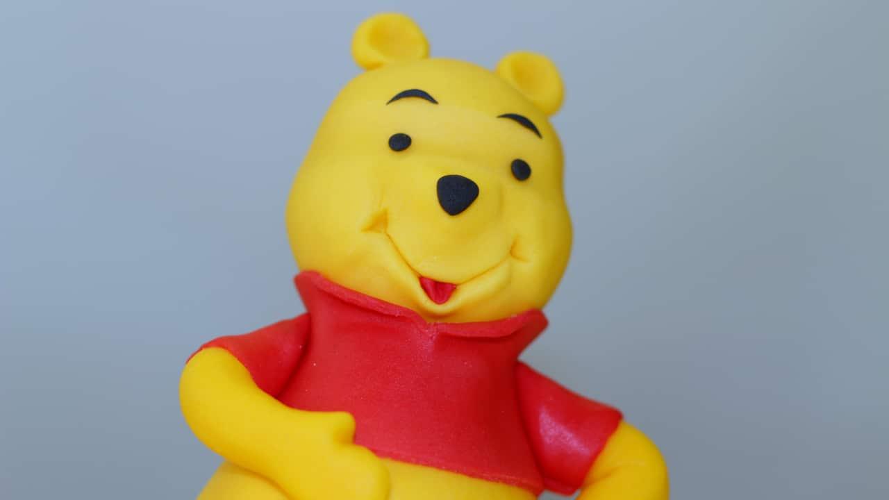 Tutorial Winnie Pooh in pasta di zucchero
