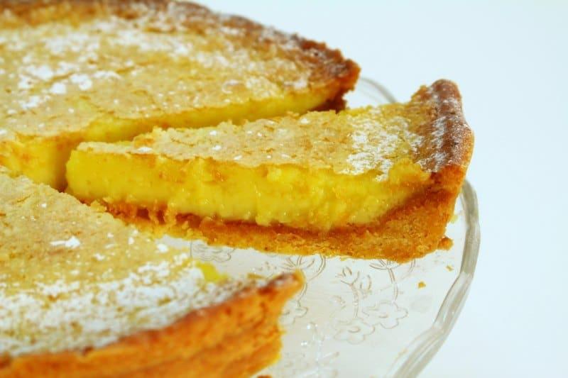 Ricetta Crostata con crema al limone