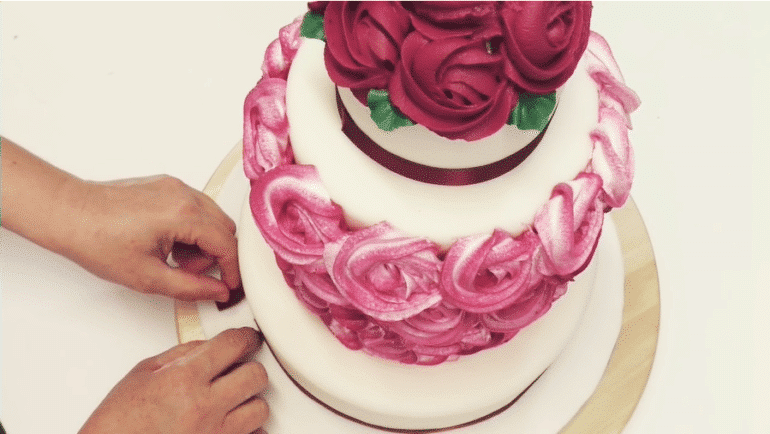Rivestire la cake board