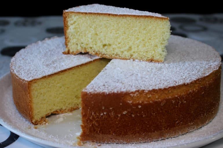 Torta Margherita sofficissima, facile e veloce