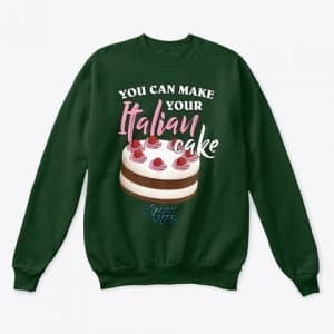Felpa unisex cake design style