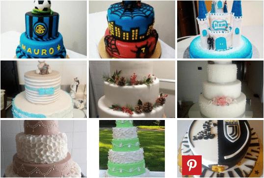 Foto di torte decorate dai nostri fans