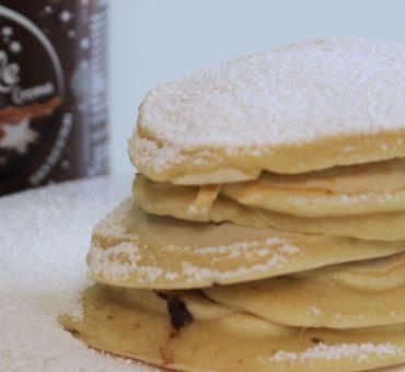 Pancakes al cioccolato Pan di Stelle