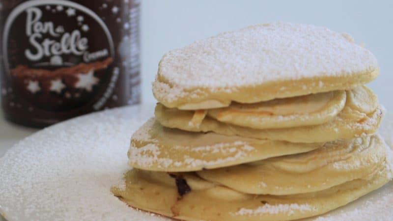 Pancake al cioccolato Pan di Stelle