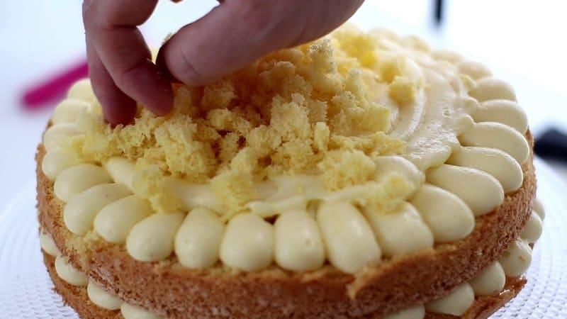 Torta Mimosa tradizionale