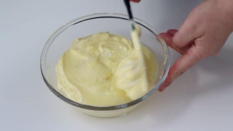 Crema per torta mimosa