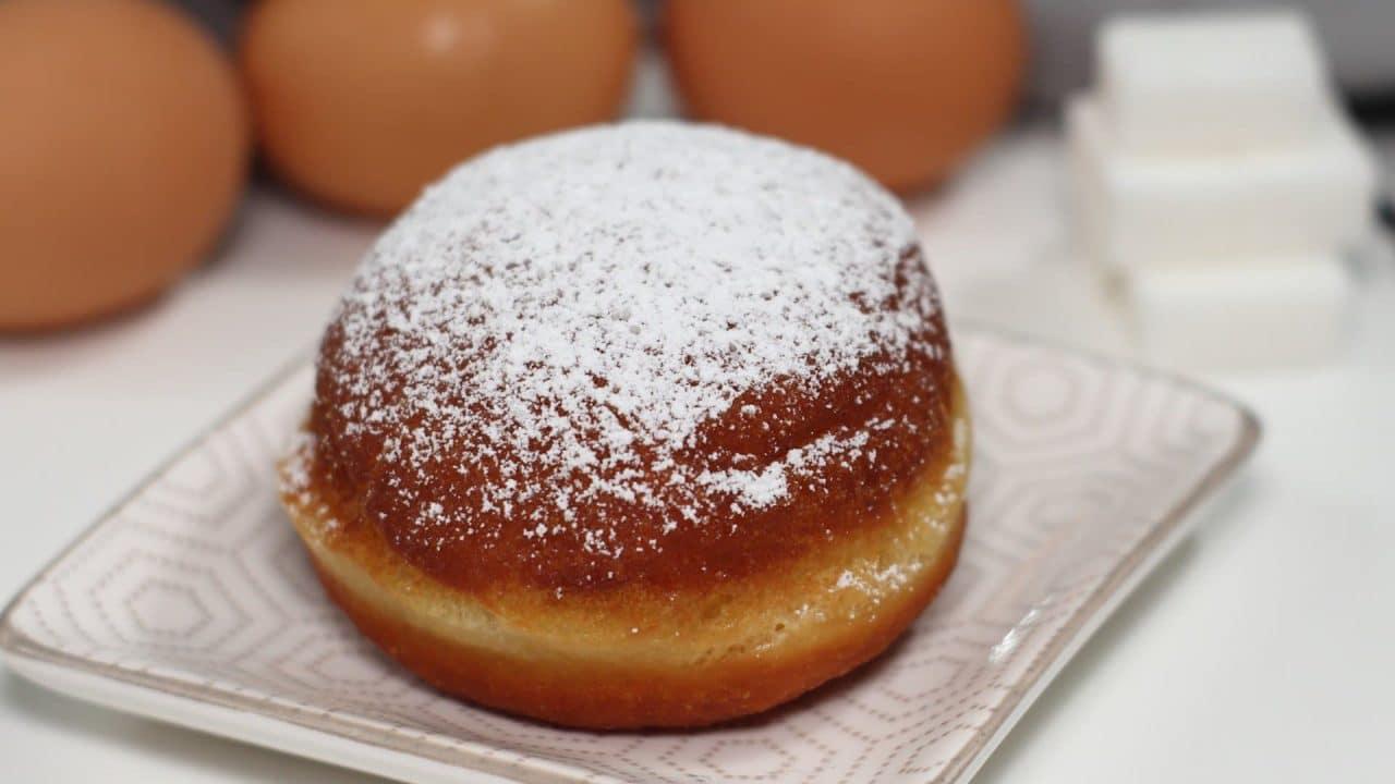 Ricetta dei bomboloni alla crema pasticcera