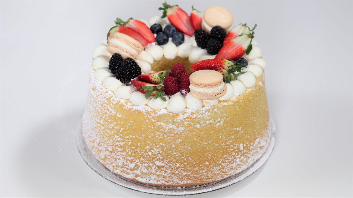 chiffon-cake-decorata-ricetta