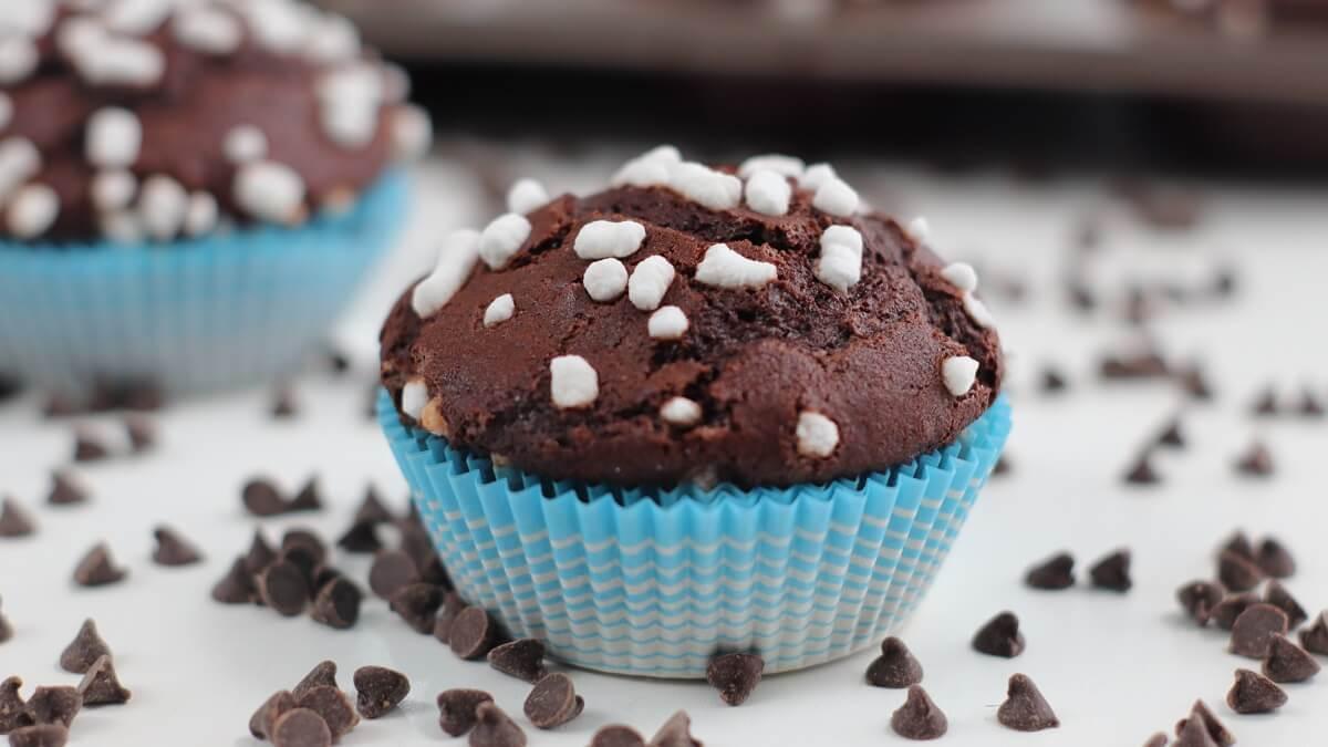Muffin al cioccolato morbidi ricetta facile