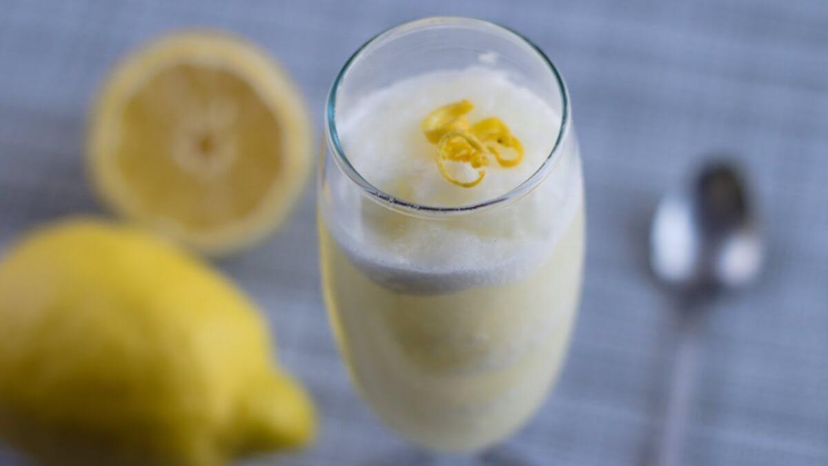 sorbetto al limone fatto in casa