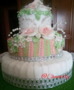 Torta decorata creata da @Chantilly