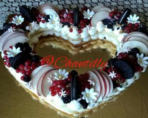 Torta cream tart di @Chantilly